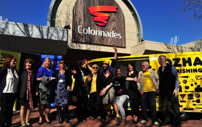OzHarvest expands to prevent food waste and spread goodness south of Adelaide