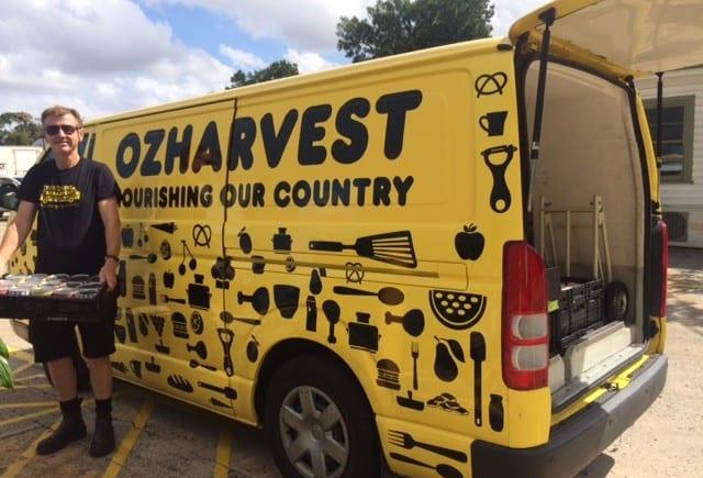 day in an ozharvest van