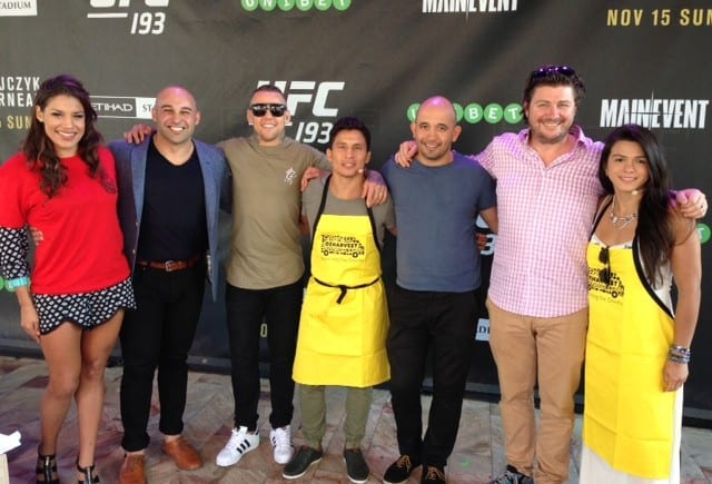 UFC teams with OzHarvest for Ultimate Cook Off
