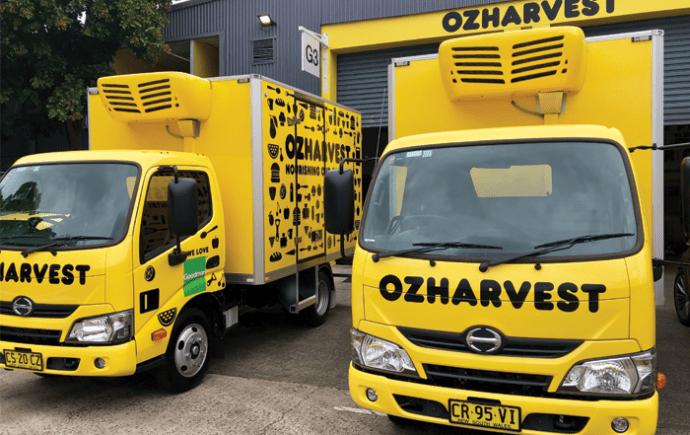 OzHarvest Trucks Canberra