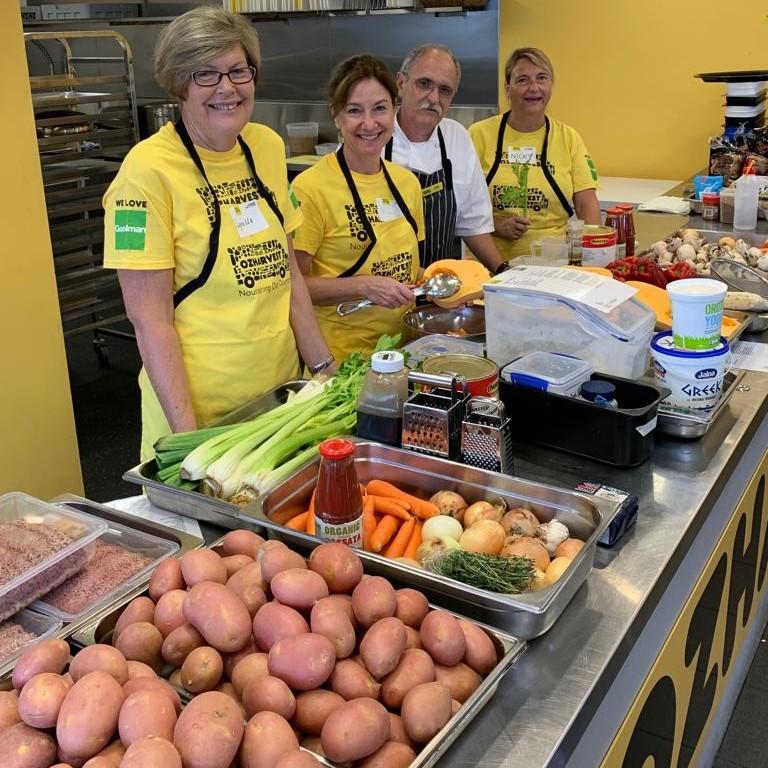 OzHarvest Brisbane volunteers