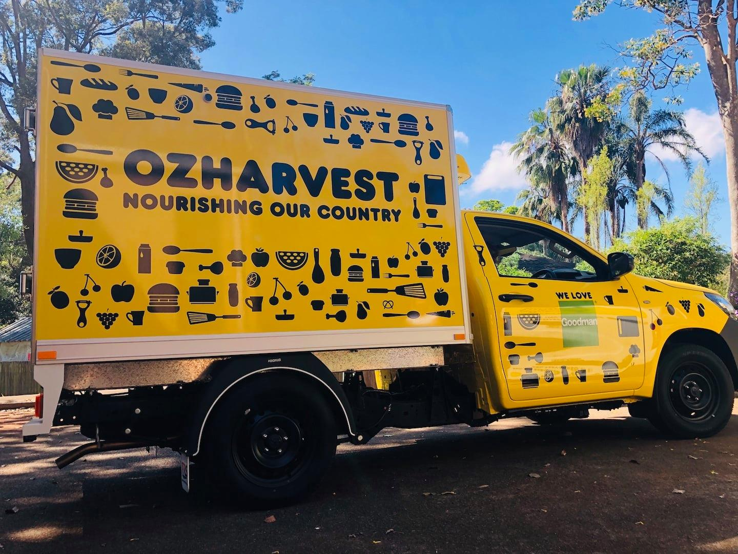 OzHarvest Port Macquarie food truck