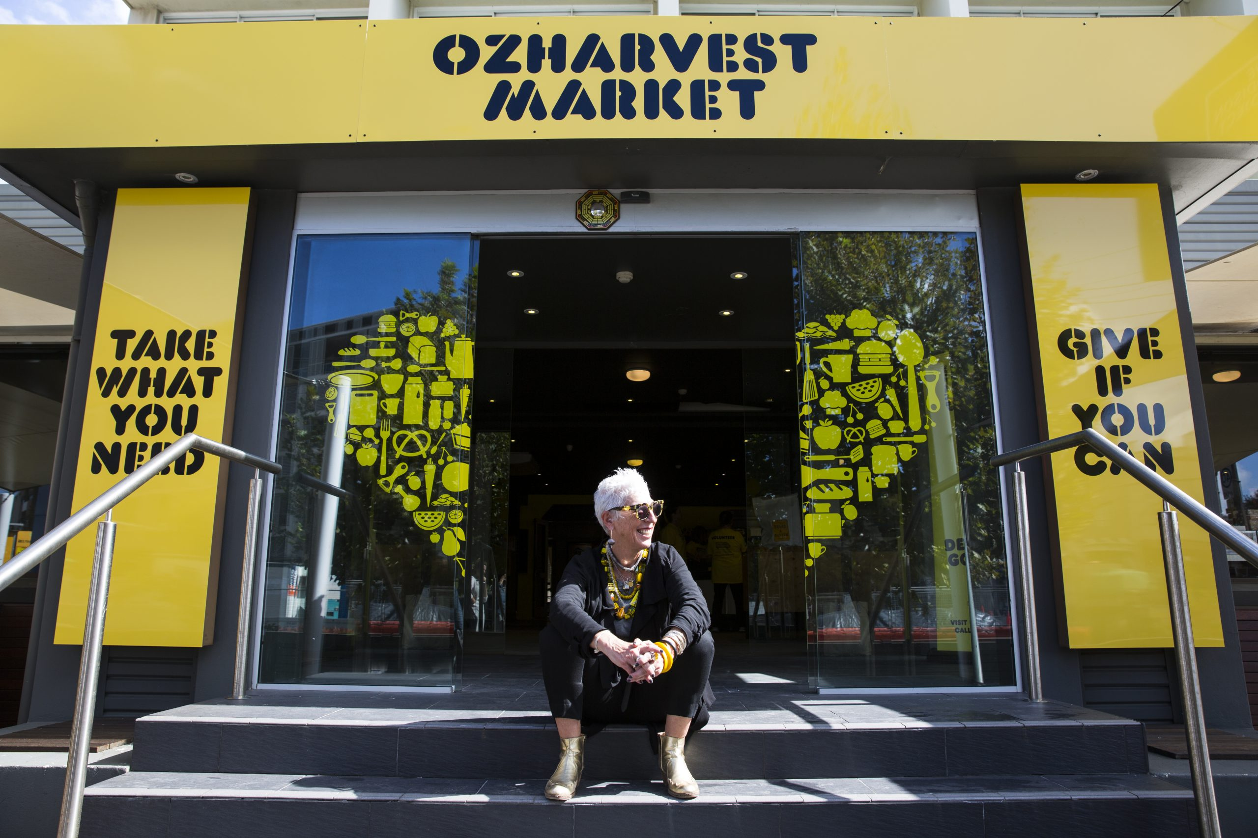 Ronni Kahn OzHarvest Market
