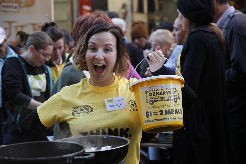Volunteer at Think Eat Save 2016