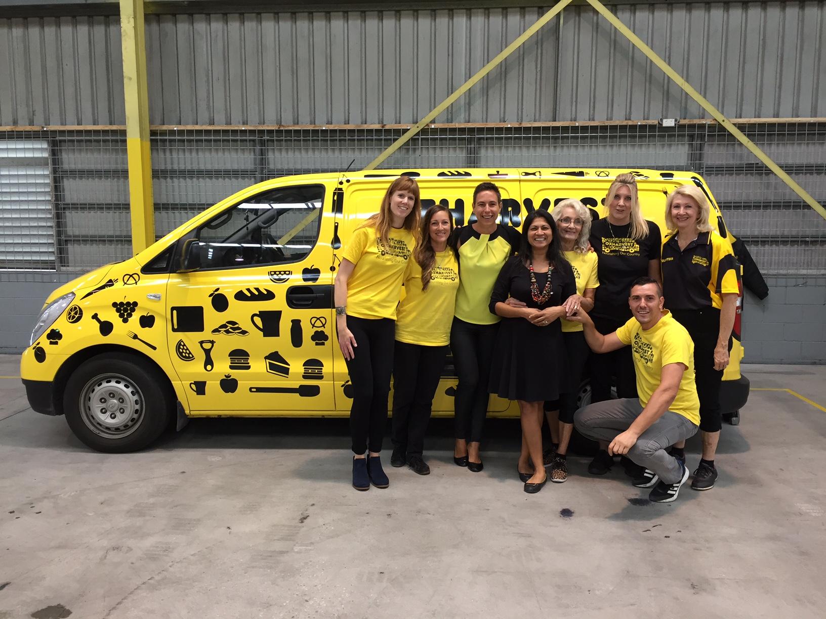 Gold Coast volunteers and Lee