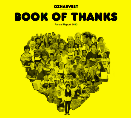 2013 Book of Thanks