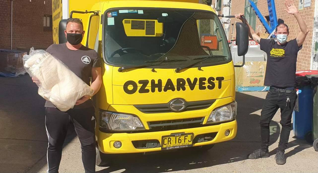 OzHarvest Lomandra blanket story