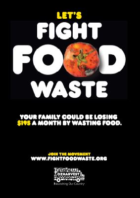 Let's fight food waste - $195 month