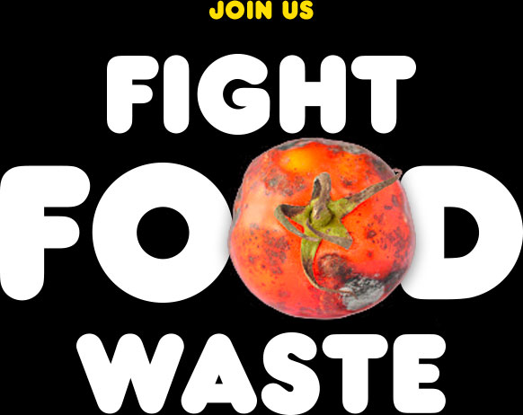 Join us in the fight against food waste