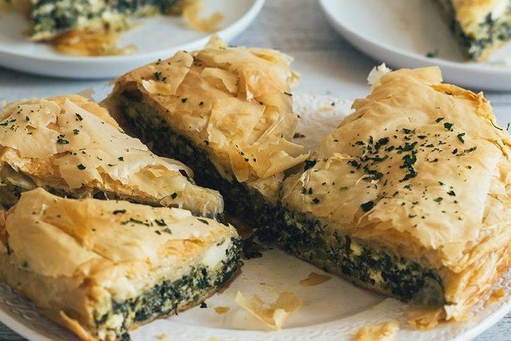 Leftover Greens Pie