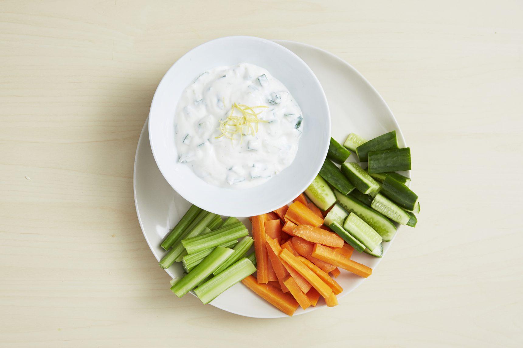 Cucumber and Yogurt Dip