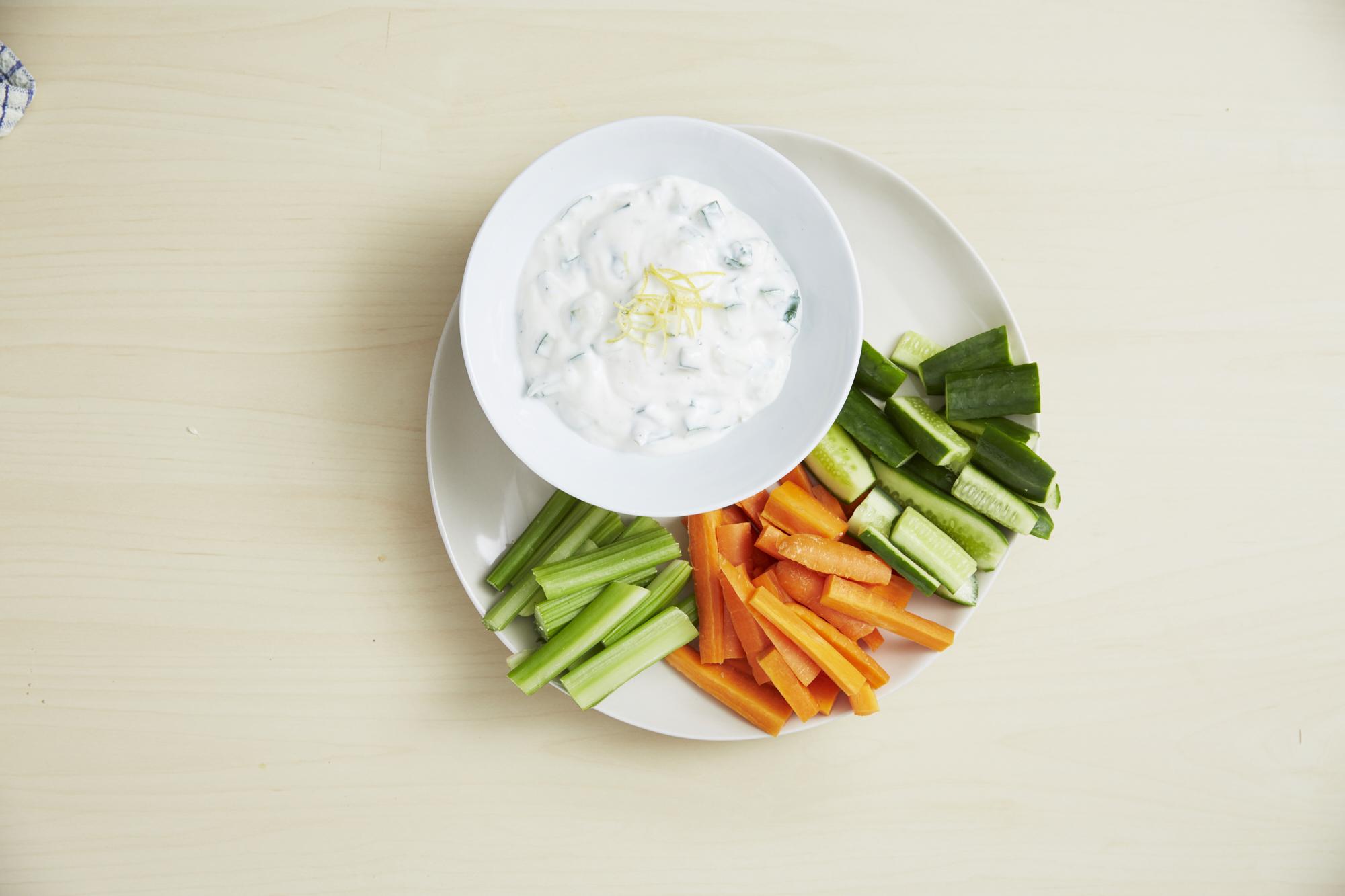 Cucumber & Yogurt Dip
