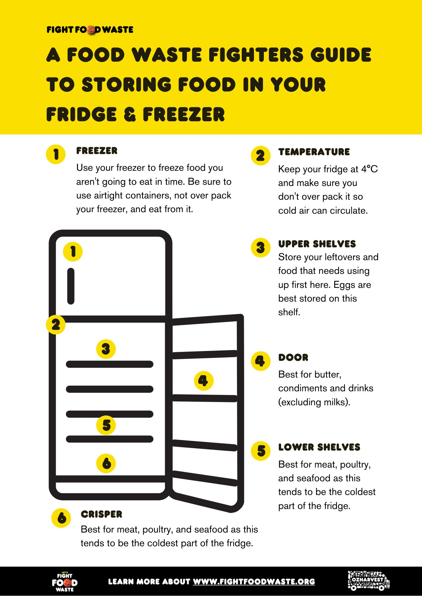 Fight food waste in the fridge