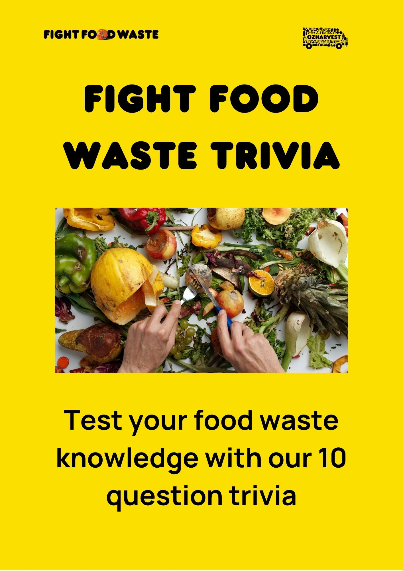 Fight Food Waste Trivia